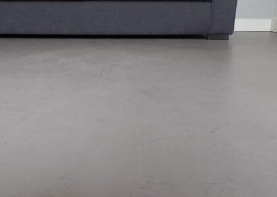 Vloerafwerking microcement